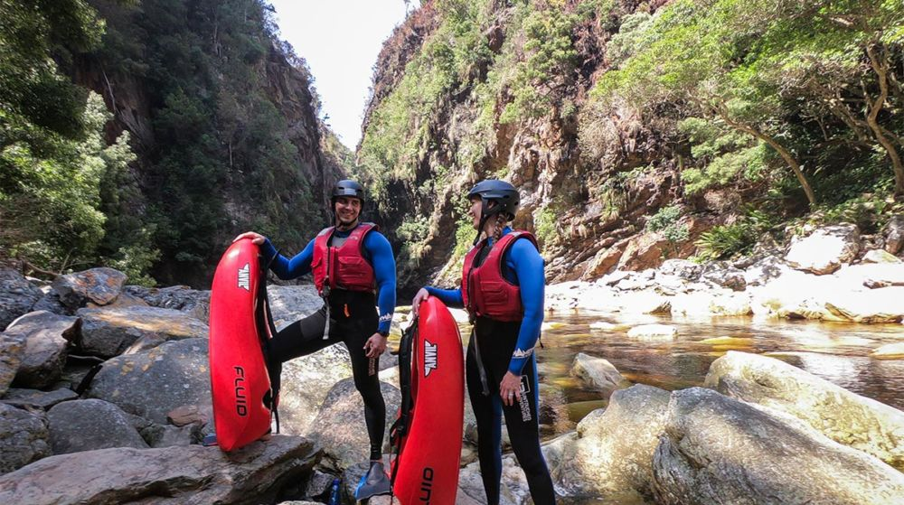 Kloofing Adventures Storms River Gorge