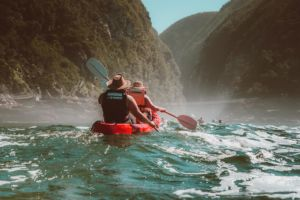 Kayaking Storms River Mouth