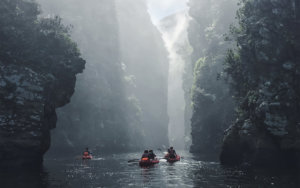 Lilo and Kayak adventure experience