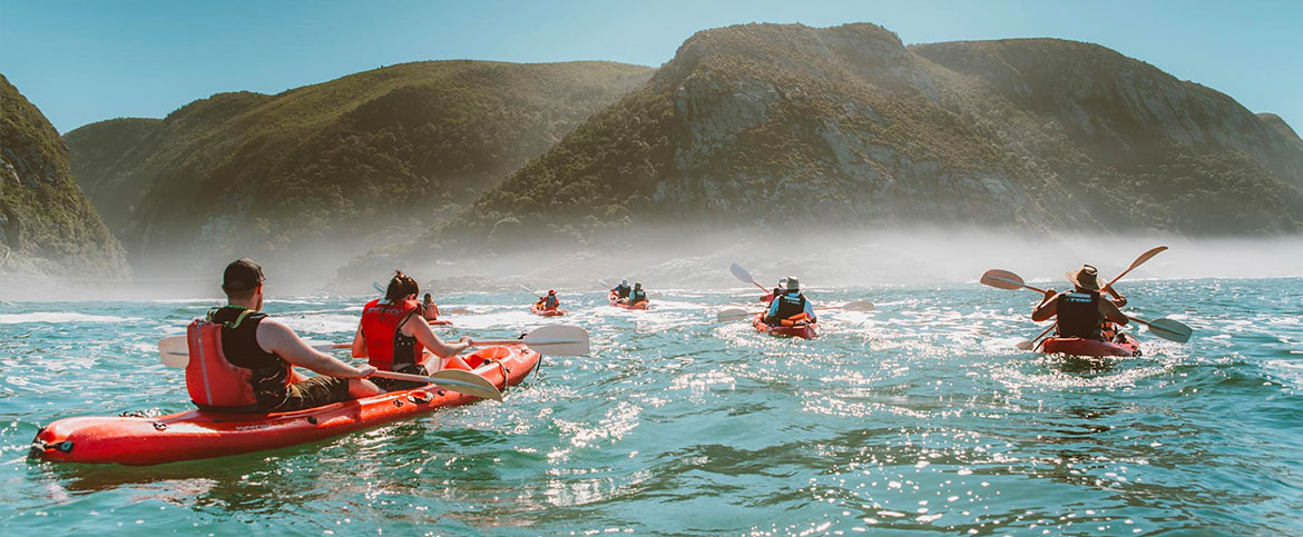 Kayak and Lilo Adventure Storms River